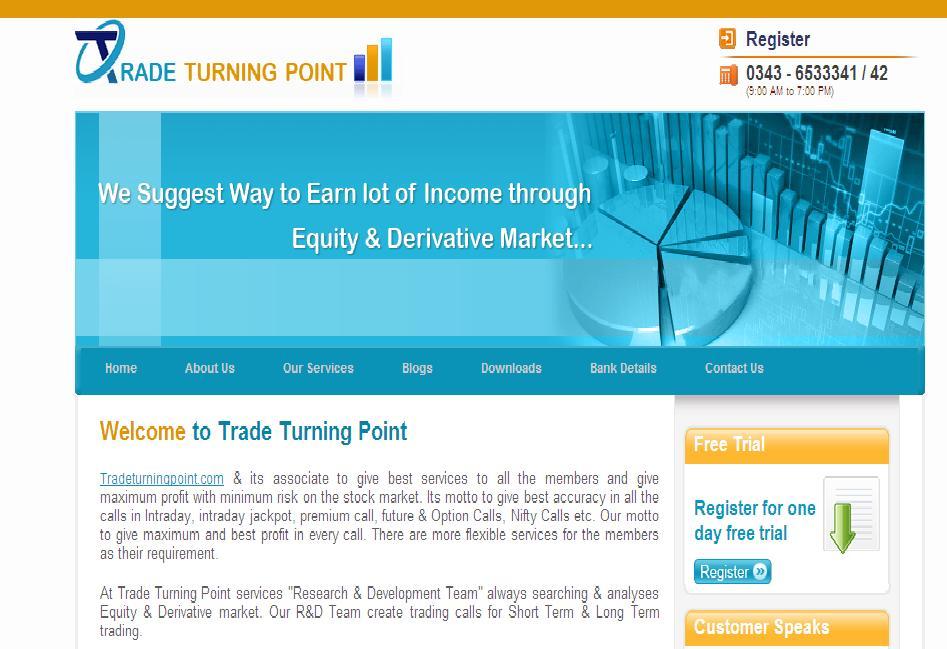Tradeturningpoint