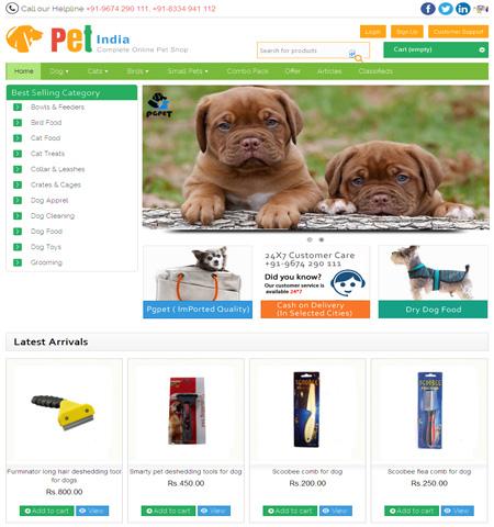 Pet India Online