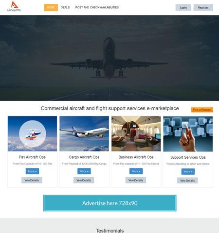 Airchartersupermarket.com