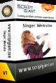 Singer Website Script