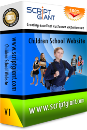 Children School Website