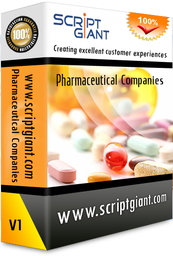 Pharmaceutical Website