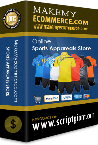 Sports Apparels Shop